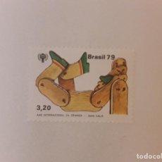Sellos: AÑO 1979 BRASIL SELLO NUEVO. Lote 286145503