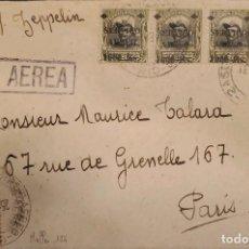 Sellos: O) BRASIL 1931, GRAF ZEPPELIN, MERCURIO, SELLOS OFICIALES PRES. HERMES DA FONSECA, SERVICIO AEREO 10. Lote 287030493