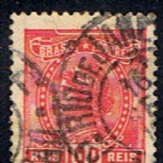 Sellos: BRASIL // YVERT 155 A // 1919 ... USADO. Lote 288710333