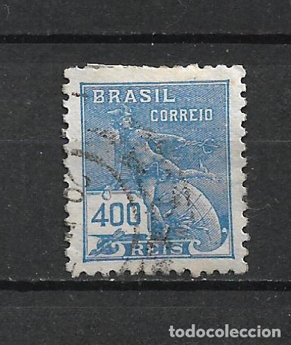 BRASIL 1922 SELLO USADO - 15/43 (Sellos - Extranjero - América - Brasil)