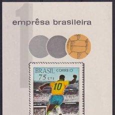 Sellos: BRASIL BF24 PELÉ. Lote 289323773