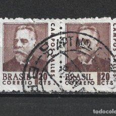 Sellos: BRASIL SELLO USADO - 20/23. Lote 289850558