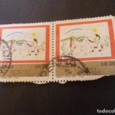 Sellos: SELLO BRASIL. NATAL FERNANDO TEODORO FILHO 13 ANOS 30,00 1982. Lote 290995943