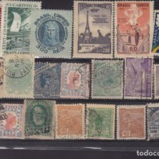 Sellos: FC3-168- BRASIL. LOTE SELLOS CLÁSICOS Y ANTIGUOS. Lote 294049528