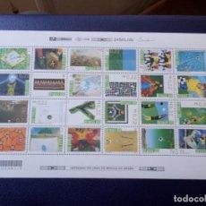 Sellos: *BRASIL, 1998, HOJA BLOQUE COPA MUNDIAL DE FUTBOL DE FRANCIA. Lote 296713038