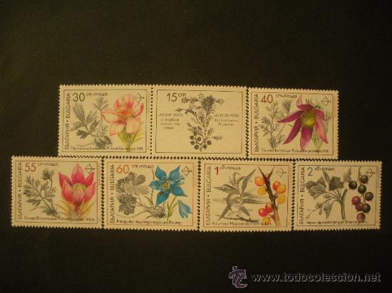 BULGARIA 1991 IVERT 3418/23 *** FLORA - PLANTAS MEDICINALES (Sellos - Extranjero - Europa - Bulgaria)
