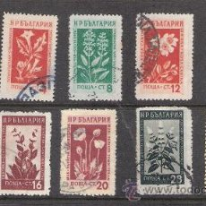 Sellos: 1953 - BULGARIA - FLORES. Lote 31183499