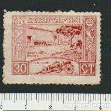 Sellos: BULGARIA.1920.-30 CT.YVERT.142.NUEVO CON SEÑAL DE FIJASELLOS.. Lote 79169933