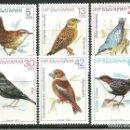 Sellos: BULGARIA 1987 IVERT 3125/30 *** FAUNA - PAJAROS - AVES. Lote 147210442