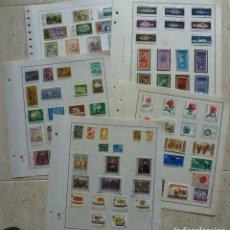 Sellos: SELLOS DE BULGARIA-FOTO 219- 89 SELLOS,USADOS, MAYORIA SERIES COMPLETAS. Lote 154465354