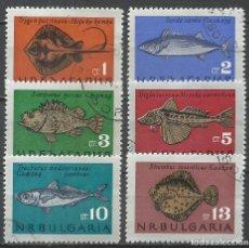 Stamps - Bulgaria - 1965 - Michel 1542/1547 - Usado - 159359058