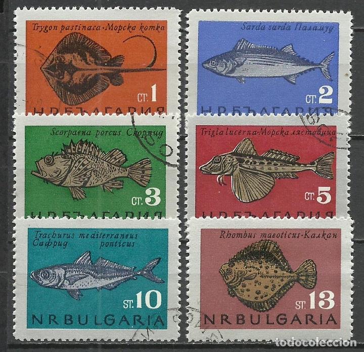 BULGARIA - 1965 - MICHEL 1542/1547 - USADO (Stamps - International - Europe - Bulgaria)