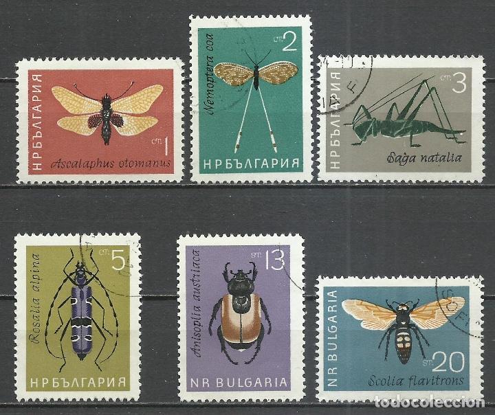 BULGARIA - 1964 - MICHEL 1446/1451 - USADO (Stamps - International - Europe - Bulgaria)