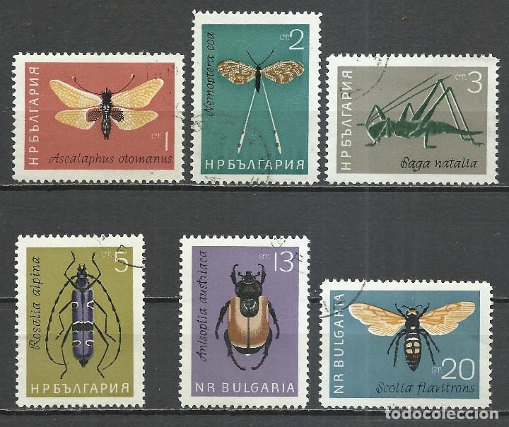 BULGARIA - 1964 - MICHEL 1446/1451 - USADO (Sellos - Extranjero - Europa - Bulgaria)