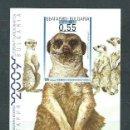 Sellos: BULGARIA - HOJAS 2008 YVERT 244 ** MNH FAUNA. Lote 164999178
