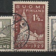 Sellos: LOTE E SELLOS FINLANDIA AÑO 1929 ALTO VALOR SERIE COMPLETA. Lote 173926030