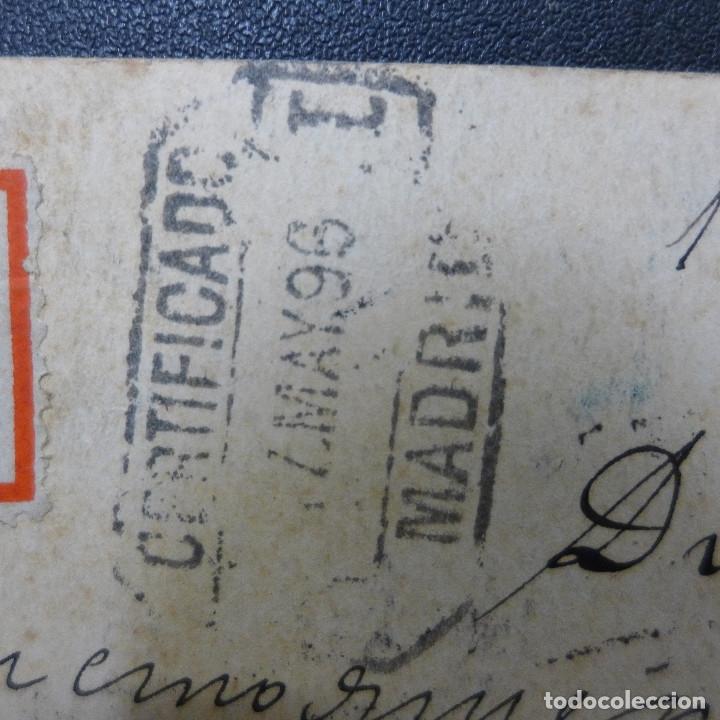 Sellos: ENTERO POSTAL DE BULGARIA CIRCULADO AÑO 1896 CON SELLO DESCONOCIDO - Foto 8 - 183206090
