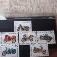 Sellos: BULGARIA SERIE COMPLETA NUEVA MOTOS 3454/9. Lote 205524457