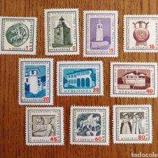 Sellos: BULGARIA, MONUMENTOS 1961 MNH (FOTOGRAFÍA REAL). Lote 211491750