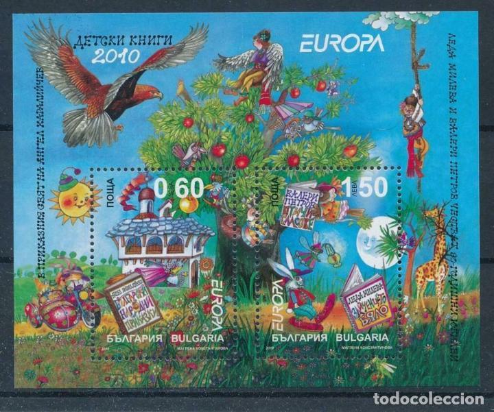 BULGARIA 2010 HB IVERT 269 *** EUROPA - CUENTOS INFANTILES (Sellos - Extranjero - Europa - Bulgaria)