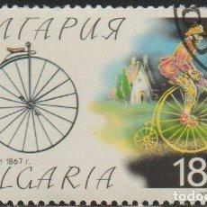 Sellos: BULGARIA 1999 SCOTT 4079 SELLO * BICICLETAS BICYCLES PENNY-FARTHING MICHEL 4395 YVERT 3820 STAMPS. Lote 244667545