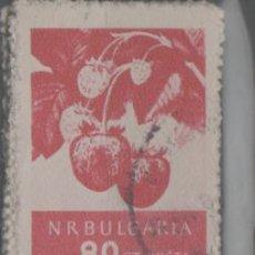 Sellos: LOTE T-SELLO BULGARIA AÑO 1956-57 FLORA. Lote 245007510