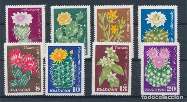 BULGARIA 1970 IVERT 1770/7 *** FLORES DE CACTUS - FLORA (Sellos - Extranjero - Europa - Bulgaria)