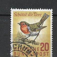 Sellos: ALEMANIA 1957 MICHEL 275 USADO - 19/38. Lote 288018308