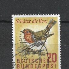Sellos: ALEMANIA 1957 MICHEL 275 USADO - 19/38. Lote 288018333