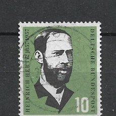 Sellos: ALEMANIA 1957 MICHEL 252 USADO - 19/38. Lote 288018453