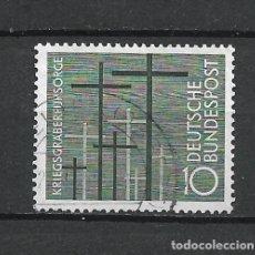 Sellos: ALEMANIA 1956 MICHEL 248 USADO - 19/38. Lote 288019003