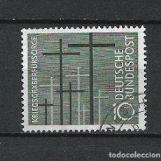 Sellos: ALEMANIA 1956 MICHEL 248 USADO - 19/38. Lote 288019033