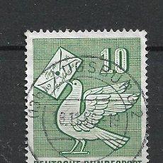 Sellos: ALEMANIA 1956 MICHEL 247 USADO - 19/38. Lote 288019098