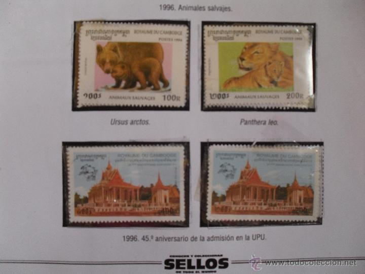 Sellos: sellos de camboya de conocer y coleccionar sellos de todo el mundo - Foto 3 - 44839349
