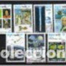 Sellos: COMETA HQLLEY. KAMPUCHEA/CAMBOYA, SELLOS AÑO 1986. Lote 81013664