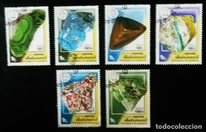SEIS SELLOS DE CAMBOYA (Sellos - Extranjero - Asia - Camboya)