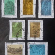 Sellos: SIETE SELLOS DE CAMBOYA. Lote 85320992