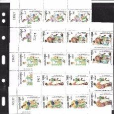 Sellos: CAMBOYA. CONJUNTO DE 10 SERIES Y 10 HOJAS BLOQUES DEL TEMA FUTBOL. Lote 90660820