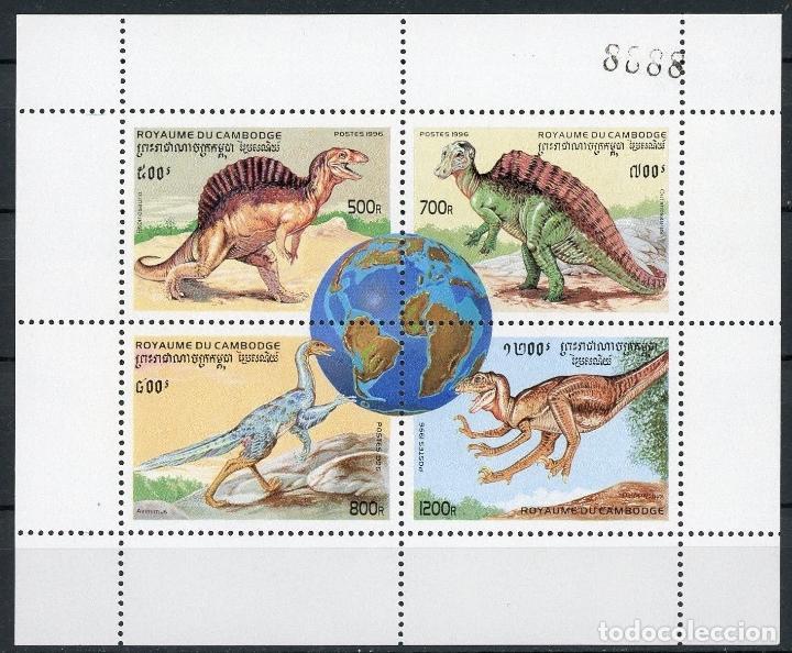 Sellos: Camboya 1996 Ivert 1346/57 *** Fauna Prehistórica - Foto 2 - 107518267