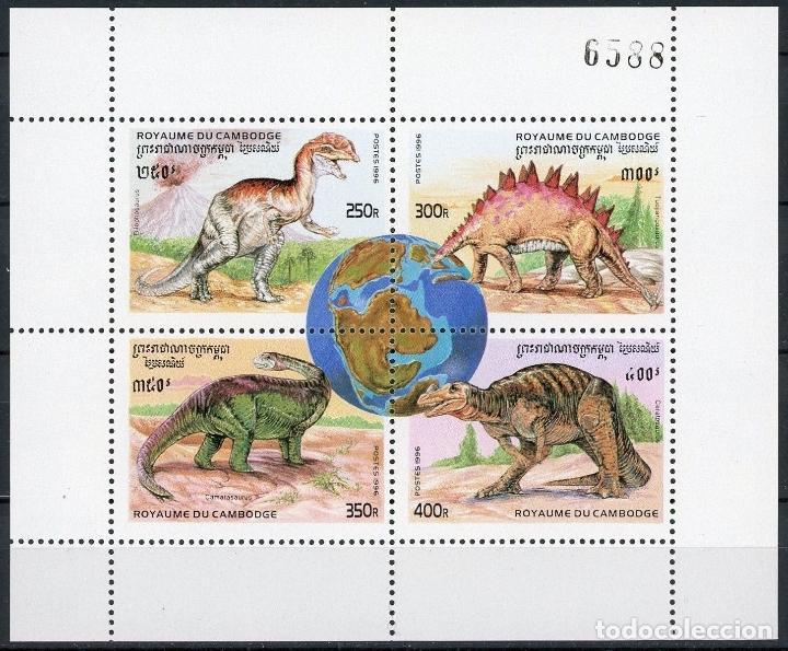 Sellos: Camboya 1996 Ivert 1346/57 *** Fauna Prehistórica - Foto 3 - 107518267