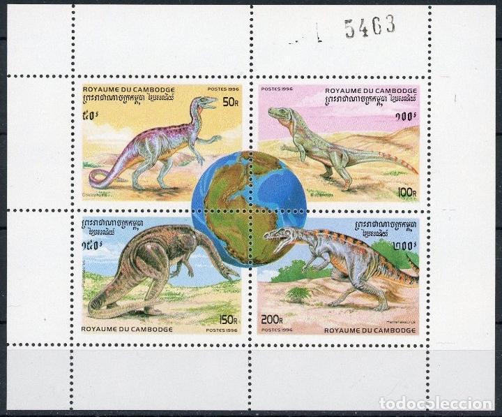 Sellos: Camboya 1996 Ivert 1346/57 *** Fauna Prehistórica - Foto 4 - 107518267