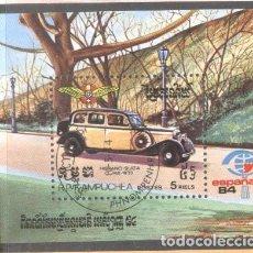 Sellos: KAMPUCHEA 1984 HISPANO-SUIZA CARS MI.B138 USED TA.137. Lote 198272883
