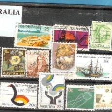 Sellos: LOTE DE SELLOS DE AUSTRALIA. Lote 202596766