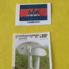 Sellos: CAMBOYA (A)- 1 SELLO CIRCULADO. Lote 204793530