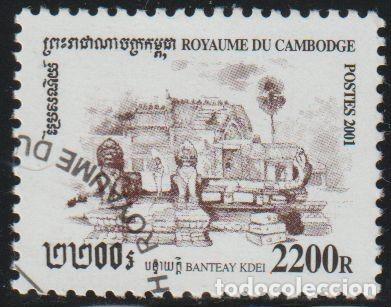 CAMBOYA 2001 SCOTT 2096 SELLO * LUGARES HISTORICOS TEMPLOS BANTEAY KDEI MICHEL 2182 YVERT 1828 (Sellos - Extranjero - Asia - Camboya)