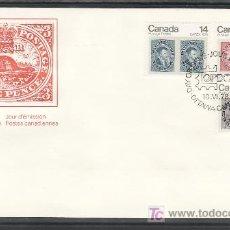 Sellos: CANADA 665/7 SOBRE PRIMER DIA, CAPEX 78 EXPOSICION FILATELICA INTERNACIONAL EN TORONTO, . Lote 9079770