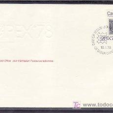 Sellos: CANADA 655 SOBRE PRIMER DIA, CAPEX 78 EXPOSICION FILATELICA INTERNACIONAL DEL CANADA EN TORONTO, . Lote 9079955