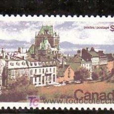 Sellos: CANADA 477 SIN CHARNELA, VISTA DE QUEBEC, . Lote 9085853