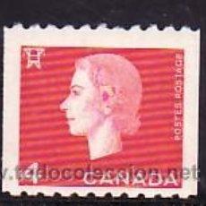Sellos: CANADA 331A DE ROLLO SIN CHARNELA, MONARQUIA, REINA ISABEL II, HYDROELECTRICA, . Lote 9096190