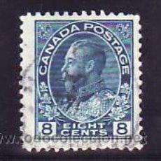 Sellos: CANADA 115 USADA, GEORGE V, . Lote 11051832